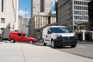 delivery van, city, urban