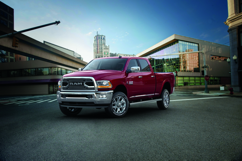 2018 Ram 2500 | Trim Levels and Product FeaturesFCA Work ...