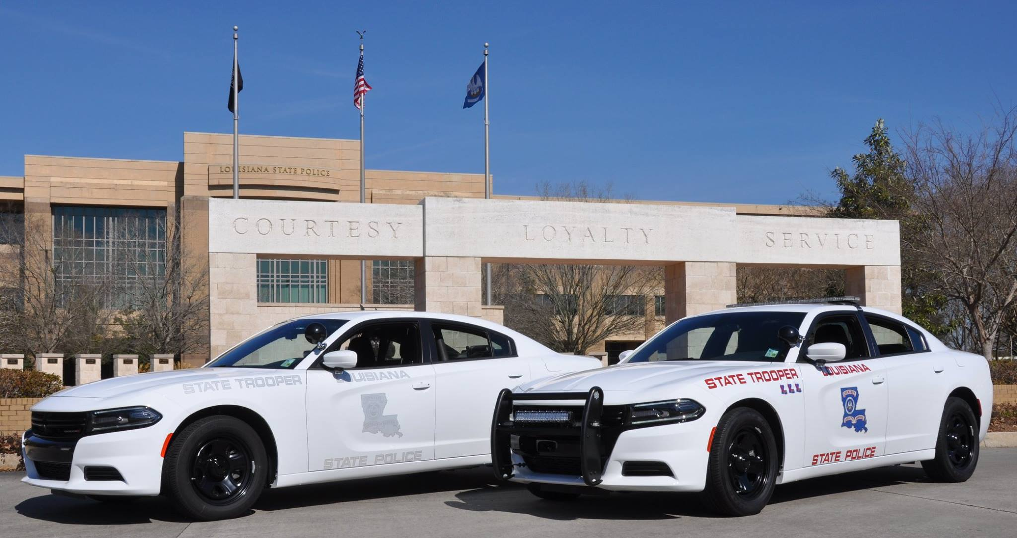 Police Light Bar >> Dodge Charger Pursuit & Louisiana State Police: Partners Against CrimeFCA Work Vehicles Blog